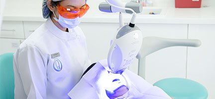 Teeth bleaching clinic